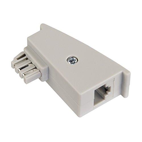Hama DSL-Adapter für Fritzbox/TAE-Stecker/Kupplung Dsl-router Splitter