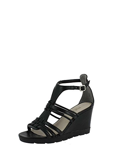 The flexx B606/19 Sandalo zeppa Donna Nero
