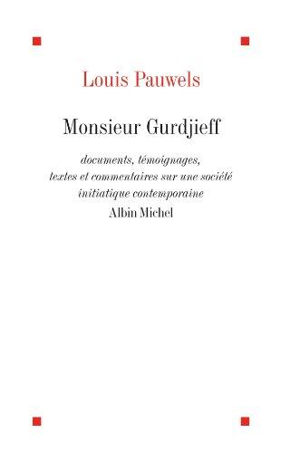 En ligne Monsieur Gurdjieff epub pdf