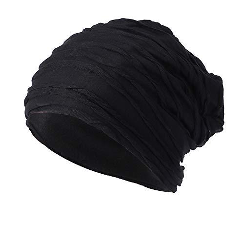 MIRRAY Herren Damen Mütze Baumwolle Elastisches Lang Slouch Beanie Unisex Hat Hüte (Lampe Pilot Rot)