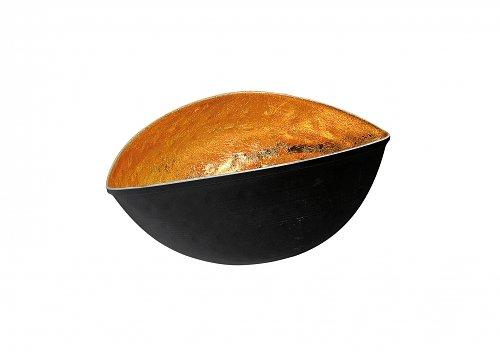 Ciotola decorativa - articolo - Colore nero/oro haifischtech - ciotola - 18 x 11 x 8 cm - decorazione - ciotola - in