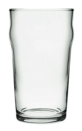 Vaso de cristal de pinta para cerveza pack de seis unidades 500ml