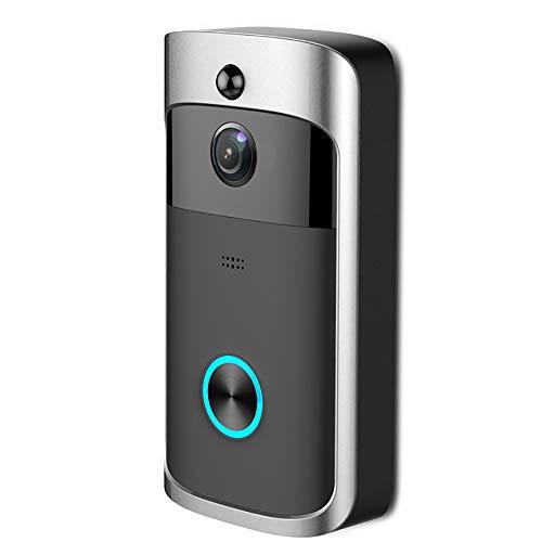 JTY WiFi Video Doorbell, Smart Doorbel 720P Wireless Video Doorbell Kamera mit Two Way Audio Motion Detection Night Vision, IR Motion Detection, Night Vision, Smart Monitor Intelligente Motion-detection