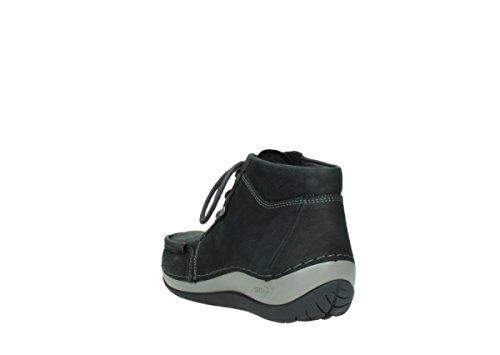 Wolky Comfort Chaussures à lacets Sensation 11002 nubuck noir
