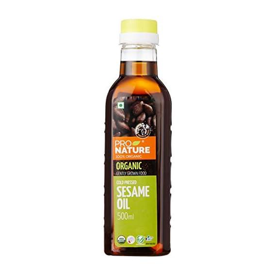 Pro Nature 100% Organic Sesame Oil, 500ml