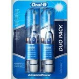 2-braun-oral-b-advanced-power-400-battery-operated-toothbrush-duo-pack