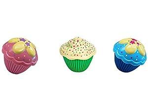 Toy Partner- Mini Cupcake Sorpresa, Pack de 3 Figuras, (11150)