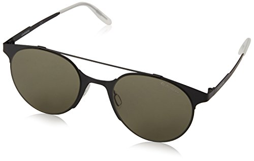Carrera UV Protected Phantos Unisex Sunglasses - (CARRERA 115/S 003 50QT|50|Black Color) image