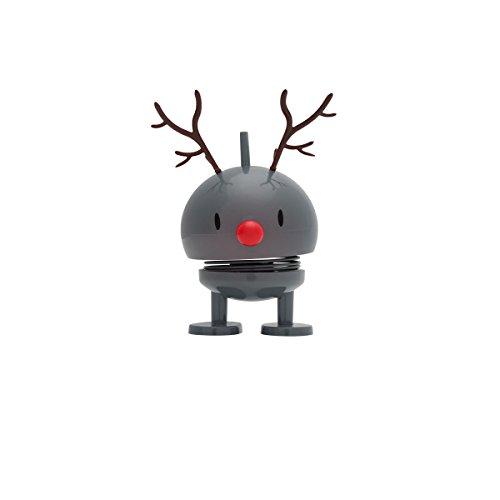 Hoptimist Dancer Baby Bumble, Rentier, Reindeer, Dekofigur, Weihnachtsfigur (grau)
