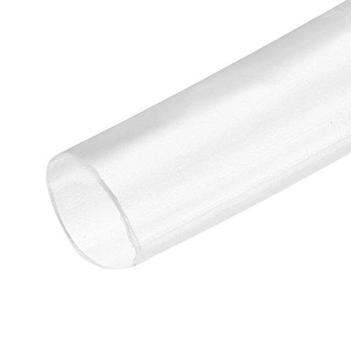 Sourcing Map Schrumpfschlauch, 2:1 Elektrischer Isolierschlauch, Draht-Schlauch, transparent, 3 mm Durchmesser, 5 m Länge (Draht-schlauch)