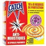 Catch spirale extérieure anti-moustiques x10 parfum Géranium