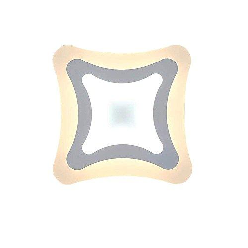 Nianle LED-Wandleuchte Einfach und Modern Zum Modus der Kreative Modus der Nachttisch-Wandlampe Zum dünnen geführten...