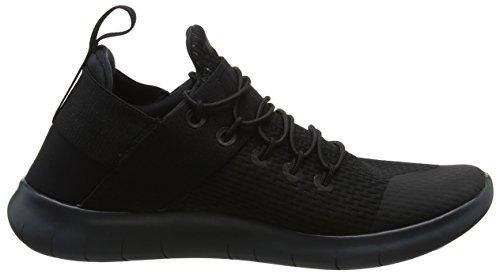 Nike Wmns Free RN Cmtr 2017, Scarpe Running Donna Nero (Black/dark Grey/anthracite/black)