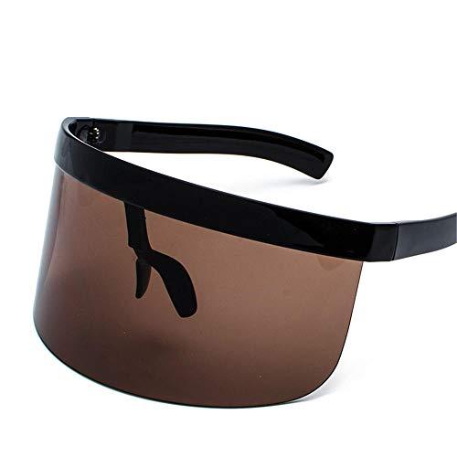 ANSKT Große Rahmen Gläser Anti-Peeping-Brille integrierte personalisierte Maske Sonnenbrille Mode Sonnencreme @ 1