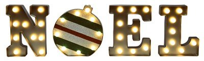Mr Christmas 60321 9 Ind/Out Noel Marquee - Quantity 1 by Mr. Christmas