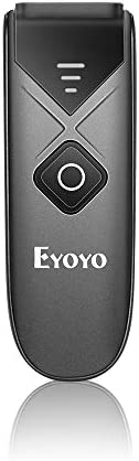 Eyoyo Bluetooth Barcode Scanner, Mini Portable Barcode Reader with USB سلكي/بلوتوث/ 2. 4G Wireless Connection