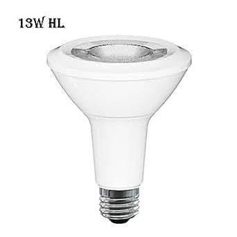 Bymea E26 LED Lampe PaR30 Long cou 13W 6500 K 800lm 2700–intérieur léger, 25 ã °