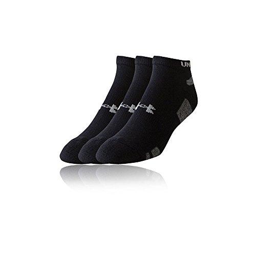 Under Armour Men's Ua Heatgear No Show Socks (Pack of 3)