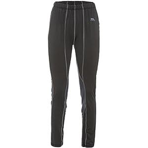 31AWt9lV9CL. SS300  - Trespass Women's Redeem Baselayer Trousers Tp75, Black X