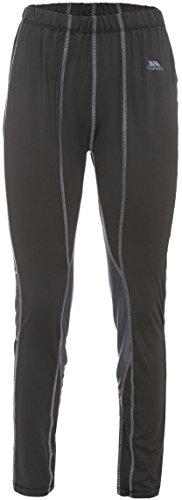 Trespass Redeem, Black X, XL, Schnelltrocknende Baselayer Hose für Damen, X-Large, Schwarz (Schwarze Snowboard-hosen-frauen)