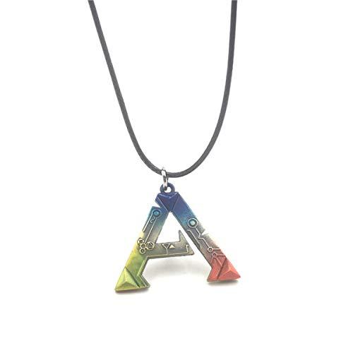 Baoleiju Cute Ark: Survival Evolved Halskette mit Schmuckkästchen, Ark: Survival Evolved Necklace for Women, Men (Multicolor)