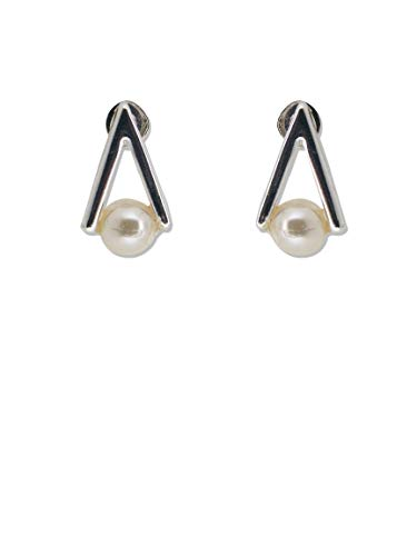 Stud Dangle Drop Earrings for Women| Silver Plated Earrings | Always Chic Fashion Jewellery | Hypoallergenic Nickle-Free for Sensitive Ears | Gift for Birthday, Wedding, Valentine's Day, Anniversary - Classic 2g Fällen