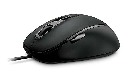 Microsoft Usb-maus (Microsoft Comfort Mouse 4500 (Maus, schwarz, kabelgebunden, für Rechts- und Linkshänder geeignet))