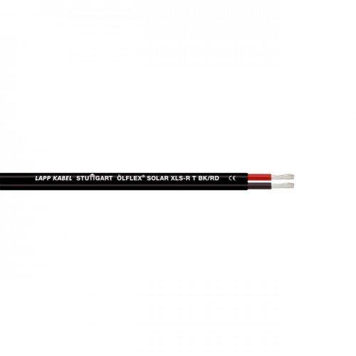 10m Bund Lapp ÖLFLEX© SOLAR XLS-R T 2X6mm² BK/RD Solarkabel Zwillingsleitung