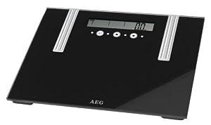 Báscula AEG medición de masa muscular, agua y grasa