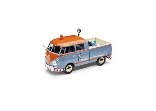 Volkswagen 1H3099303 Original VW T1 Pickup Kundendienst Servicewagen 1:24 Bulli Modellauto Miniatur