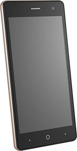 ZTE Blade L7 Smartphone (12,7 cm (5 Zoll) Display, 8 GB Speicher, Dual-SIM, Android 6.0) Schwarz