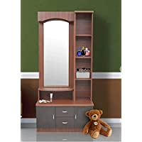 AG Shop Wooden Dressing Table-Engineered Wood Brown Dressing Table
