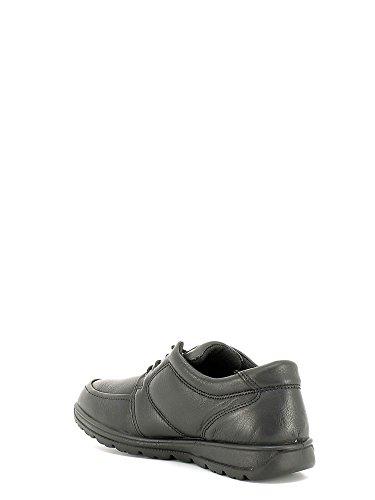 ENVAL , Chaussures de ville à lacets pour homme Noir