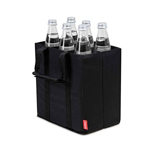 achilles Borsa per bottiglie Flacone per bottiglia di Achille 6 flacone per 6 bottiglie portabottiglie 25 x 17 x 27