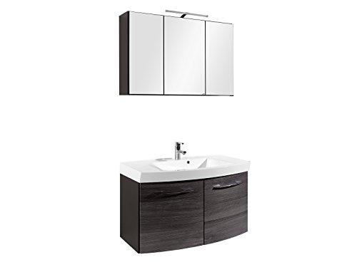 #Waschtisch-Set Badset Badezimmer Spiegelschrank Waschplatz Waschtisch#