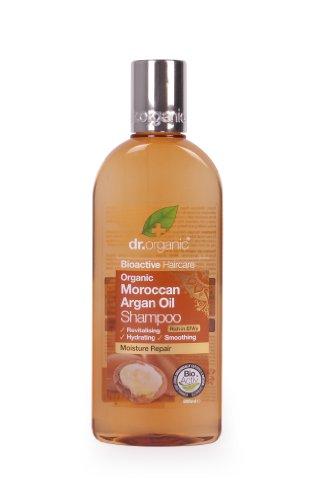 Dr. Organic, Shampoo all'olio di Argan, 265 ml