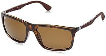 Ray-Ban Men's Polarized Sunglasses RB4228 58 mm: Amazon.co