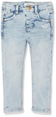 NAME IT Baby-Mädchen Jeans NMFPOLLY DNMTIA 1154 Pant, Blau (Light Blue Denim), (Herstellergröße:86)