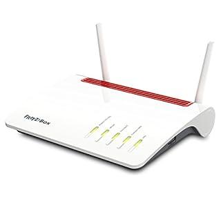 AVM Fritz Box 6890 LTE- oder DSL-Modem (bis 300 MBit/s, WLAN AC+N bis 1.733 (5 GHz) und 800 (2,4 GHz) MBit/s, 4 x Gigabit-LAN, internationale Version)