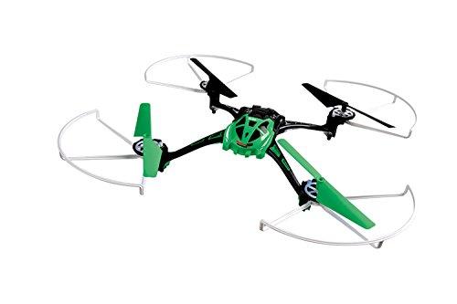 XciteRC 15013100 - Ferngesteuerter RC Quadrocopter Rocket 250 3D - 4 Kanal RTF Drohne, grün