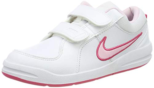 Nike Mädchen Pico 4 (PSV) Low-Top, Weiß (White/Prism Pink-Spark), 33.5 EU