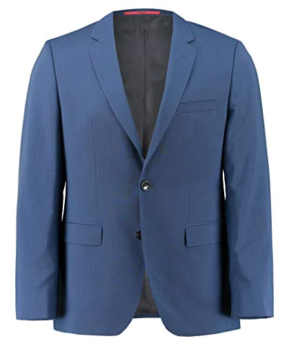 HUGO Herren Jeffery181S Anzugjacke, per Pack Blau (Medium Blue 420), 25