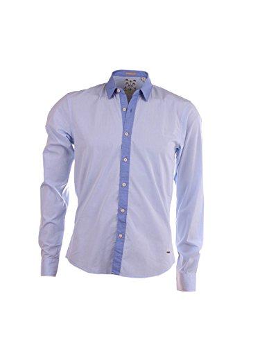 Scotch & Soda Shirt Hemd Blau