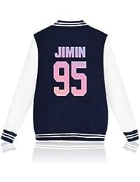Desshok BTS Felpe Unisex Bangtan Boys RM Jin Suga J-Hope Jimin V Jungkook  KPOP 3882667f9553