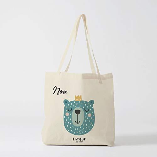 Tote Bag Kinder Brautjungfer Taschen Kindertasche Custom Bag Kind Geschenk Kind Name Bag Shopping Baga by Atelier Des Amis -