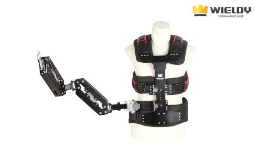 Wieldy 2014 II 1-9.5kg Pro Support Vest + Dual Arm Steady Cam Systems for Video Camera DSLR (Stativ Steady Cam)