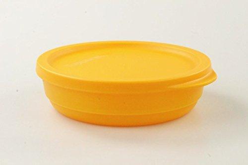 TUPPERWARE Kühlschrank Geburtstagskracher rund 200ml orange Frischebehälter Dose