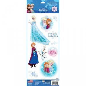 Mini pegatinas de pared, diseño Frozen