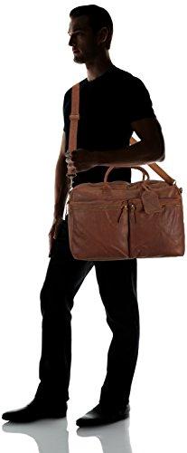 Cowboysbag  The Big Bag, Sacs portés main adulte mixte Marron - Braun (Cognac 300)