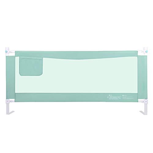 Barrières de lit Rampe de sécurité pour Enfant en Bas âge, avec Poche de Rangement et Rail de lit réglable en Hauteur pour garçons Filles (Taille : Length 220cm)
